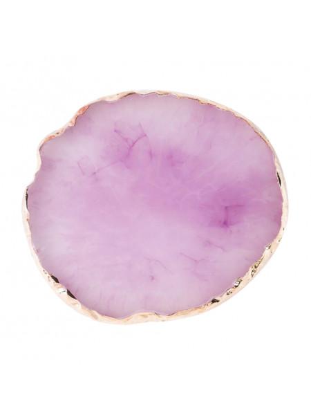 Палитра для смешивания Круг (фиолетовая)