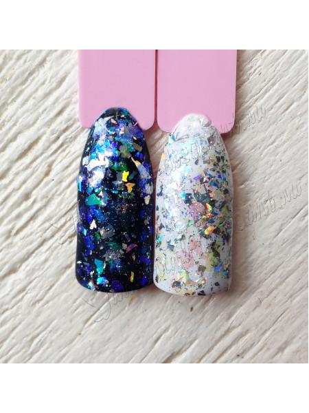Хлопья для дизайна ногтей  Galaxy №6