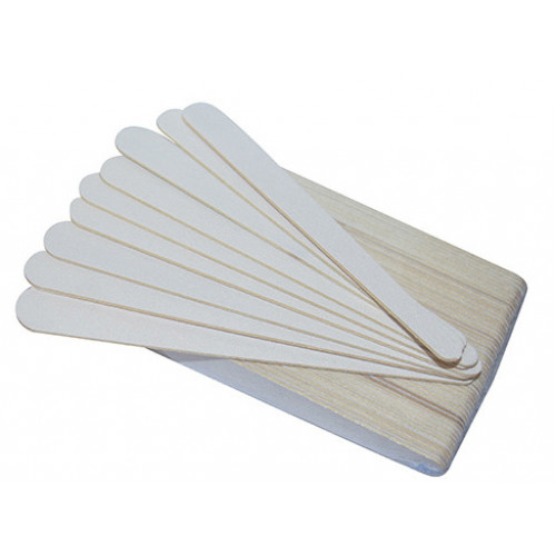 ПИЛКА 100/180 грит одноразовая на деревянной основе 17,8см.