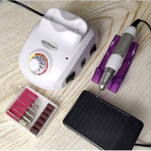 Аппарат для маникюра и педикюра ZS-603 (белый) в Иркутске