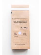 Крафт-пакеты 100x200 упаковка 100шт. Red Star