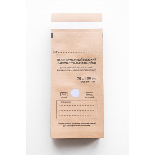 Крафт-пакеты 75x150 упаковка 100шт. Red Star в Иркутске