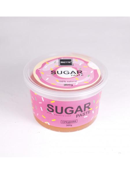 Сахарная паста Biette для депиляции 300 грамм Средняя с Цинком