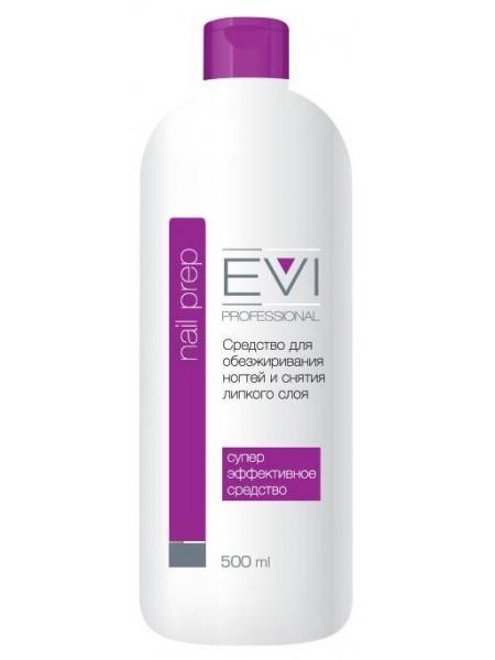 EVI Professional Средство для обезжиривания ногтей и снятия липкого слоя 500 мл