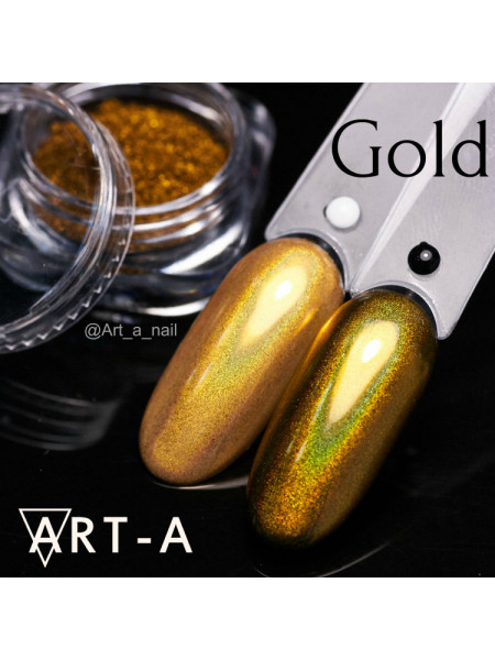 Голографический пигмент МИРАЖ Gold 0,3гр